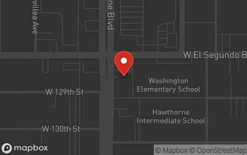 Map of 12812 S. Hawthorne Blvd. in Hawthorne