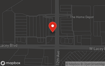 Map of 1706 W. Lacy Avenue in Hanford