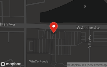 Map of 280 W. Ashlan Avenue in Clovis