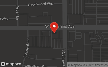Map of 2310 West Cleveland in Madera