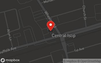 Map of 7 W. Suffolk Avenue in Central Islip