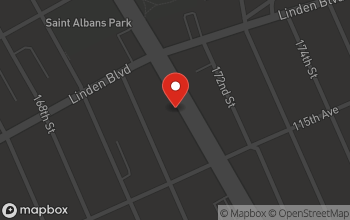 Map of 122-21 Merrick Blvd in St. Albans