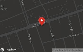 Map of 181-24 Hillside Ave in Jamaica
