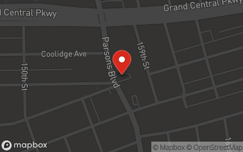 Map of 8345 Parsons Blvd. in Jamaica