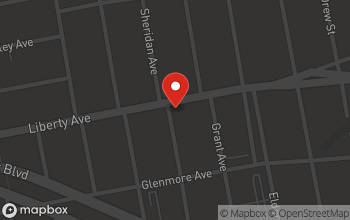Map of 1146 Liberty Avenue in Brooklyn
