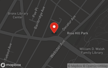 Map of 379 East Fordham Rd in Bronx