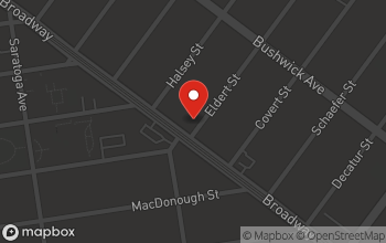 Map of 1611 Broadway in Brooklyn