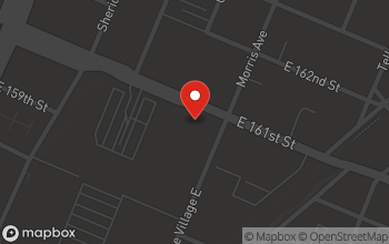 Map of 260 East 161st Street in Bronx