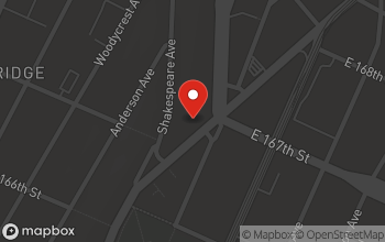 Map of 1203 Jerome Ave. in Bronx