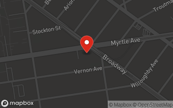 Map of 1130 Myrtle Ave. in Brooklyn
