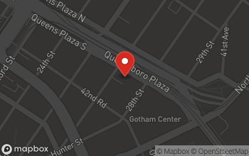 Map of 2712 Queens Plaza South in Long Island City