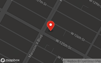 Map of 79 W. 125th St. in New York