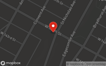 Map of 695 Saint Nicholas Ave in New York