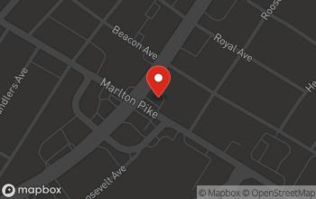 Map of 6720 South Crescent Blvd. in Pennsauken Township