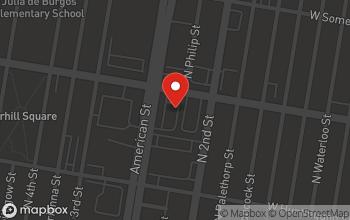 Map of 232-50 W. Lehigh Avenue in Philadelphia