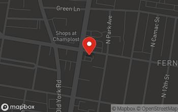 Map of 5943 North Broad Street in Philadelphia