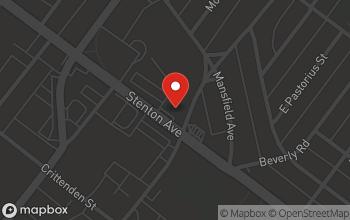 Map of 7115 Stenton Avenue in Philadelphia