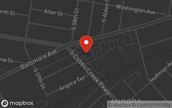 Map of 5726-46 Baltimore Avenue in Philadelphia