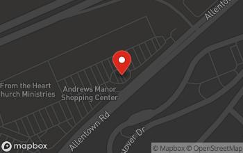 Map of 4827 Allentown Road in Camp Springs
