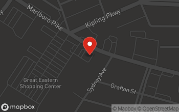 Map of 6401 Marlboro Pike in District Heights