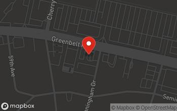 Map of 6051 Greenbelt Road in Berwyn Heights