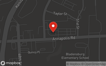 Map of 4850 Annapolis Road in Bladensburg