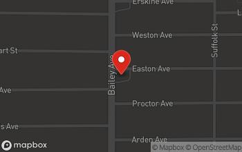 Map of 2665 Bailey Ave. in Buffalo