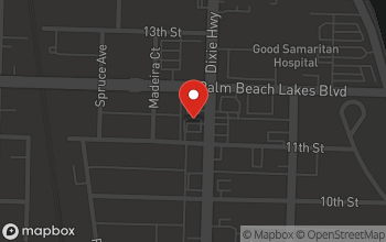 Map of 1209 North Dixie Hwy in West Palm Beach