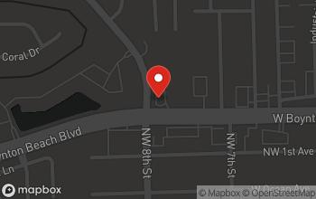 Map of 755 W. Boynton Beach Blvd. in Boynton Beach