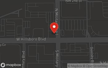 Map of 1799 W. Hillsboro Blvd in Deerfield Beach