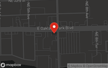 Map of 590 E. Oakland Park Blvd. in Oakland Park
