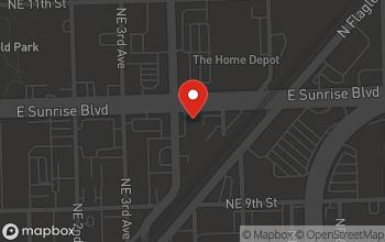 Map of 400 E. Sunrise Blvd. in Fort Lauderdale