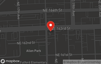 Map of 1800 163rd Street in North Miami Beach