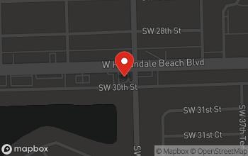 Map of 4000 W. Hallandale Beach Blvd. in Pembroke Park