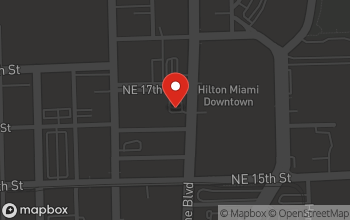 Map of 1650 Biscayne Blvd in Miami