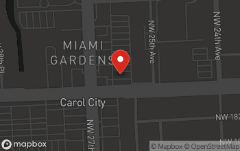 Map of 2645 NW 183rd Street in Carol City