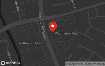 Map of 12790 W.Forest Hills Blvd. in Wellington