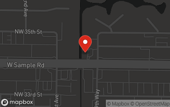 Map of 9935 W. Sample Rd in Coral Springs