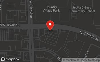 Map of 6692 N.W. 186th Street in Hialeah