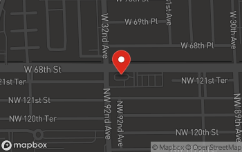 Map of 9190 NW 122nd St. in Hialeah Gardens