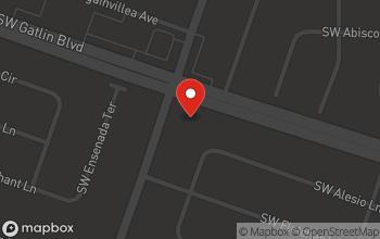 Map of 1298 SW Gatlin Blvd in Port St. Lucie