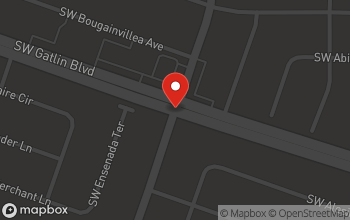 Map of 1298 SW Gatlin Blvd in Port Saint Lucie