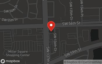 Map of 5605 SW 137th Avenue in Miami