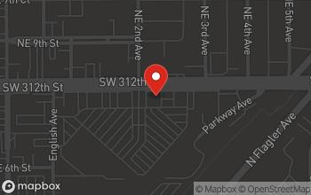 Map of 236 NE 8th Street in Homestead