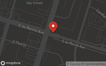 Map of 100 W De Renne Ave in Savannah
