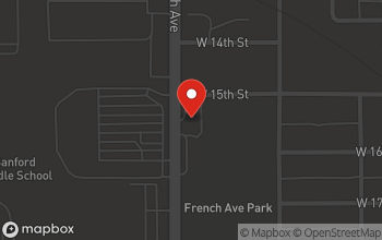 Map of 1501 S. French Avenue in Sanford
