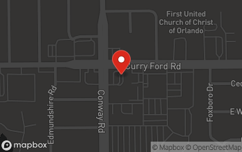 Map of 4400 Curry-Ford Road in Orlando