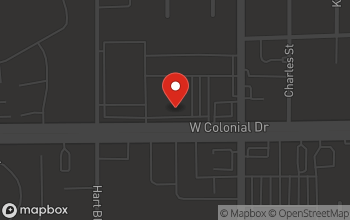Map of 6371 W. Colonial Drive in Orlando
