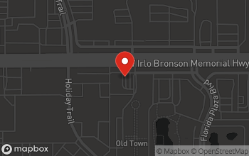 Map of 5780 Irlo Bronson Highway in Kissimmee