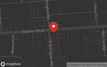 Map of 7504 Atlantic Blvd. in Jacksonville